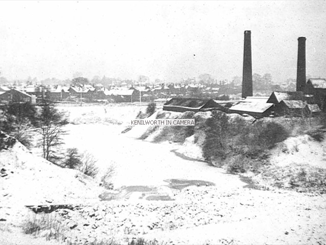Brickworks in the snow, 1940