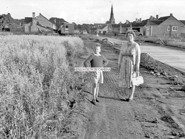 New road off the Black Pad, 1960