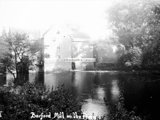 BARFORD MILL ON THE AVON